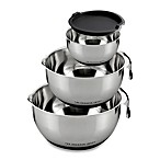 Sharper Image® 4-Piece Stainless Steel Mixing Bowl Set