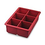 Tovolo® King Cube Ice Tray in Red