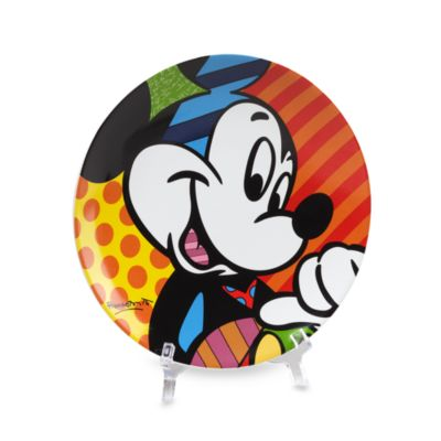 Disney by Britto™ Mickey Mouse 8-Inch Plate with Stand