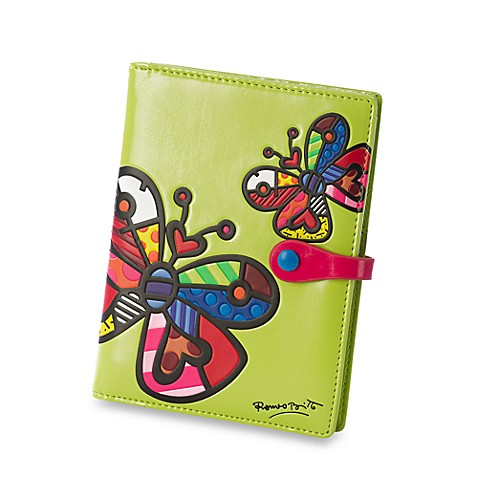 Britto™ by Giftcraft Butterfly Design Passport Cover