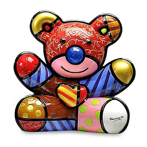 Britto™ by Giftcraft Resin Bear Figurine in Love