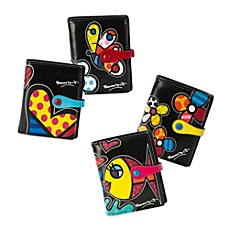 Britto™ by Giftcraft Black Bi-Fold Wallets