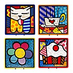 Britto™ by Giftcraft 8-Inch Square Side Plates