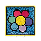 Britto™ by Giftcraft Flower Design 8-Inch Square Side Plate