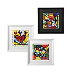 Britto™ by Giftcraft White Framed Posters