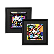 Britto™ by Giftcraft Black Framed Posters