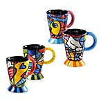 Britto™ by Giftcraft 14-Ounce Ceramic Mugs