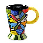 Britto™ by Giftcraft 14-Ounce Ceramic Mug in Butterfly