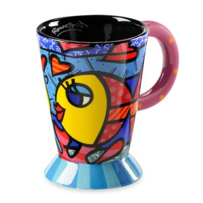 Britto™ by Giftcraft 14-Ounce Ceramic Mug in Fish