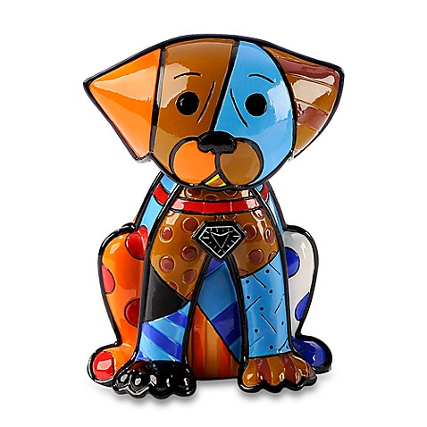 Britto™ by Giftcraft Boxer Dog Figurine