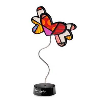 Britto™ by Giftcraft Heart with Wings Figurine on Base