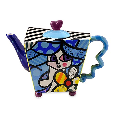 Britto™ by Giftcraft 48-Ounce Flower Girl Teapot