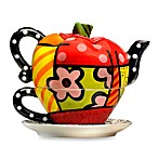Britto™ by Giftcraft Apple Tea for One Teapot