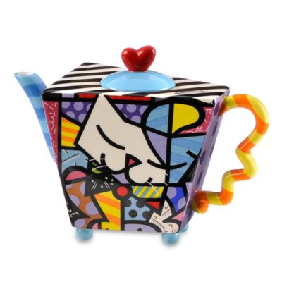 Britto™ by Giftcraft 48-Ounce Cat Teapot