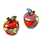 Britto™ by Giftcraft Apple Salt & Pepper Shaker Set