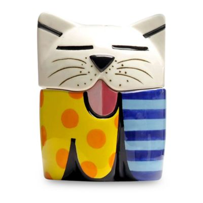 Britto™ by Giftcraft Cat Salt & Pepper Shaker Set