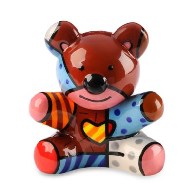 Britto™ by Giftcraft Bear Salt & Pepper Shaker Set