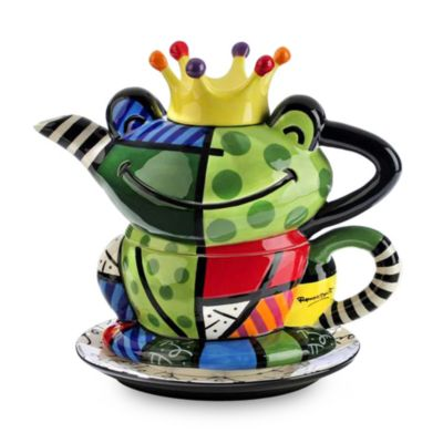 Britto™ by Giftcraft Frog Tea for One Teapot