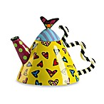 Britto™ by Giftcraft 52-Ounce Round Teapot with Hearts