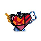 Britto™ by Giftcraft 52-Ounce Heart Design Teapot