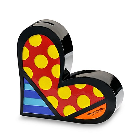 Britto™ by Giftcraft Heart Bank