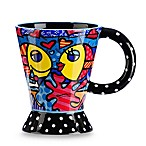 Britto™ by Giftcraft Two-Fish 12-Ounce Ceramic Mug
