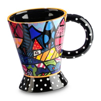 Britto™ by Giftcraft Home 12-Ounce Ceramic Mug