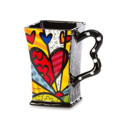 Britto™ by Giftcraft A New Day 14-Ounce Square Mug