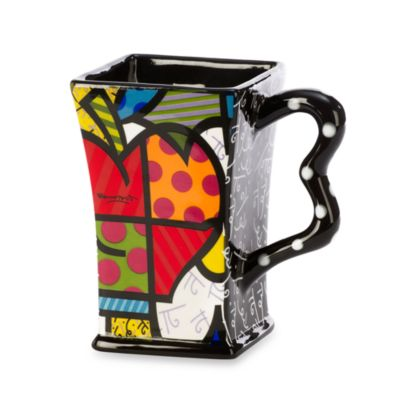 Britto™ by Giftcraft Apple 14-Ounce Square Mug