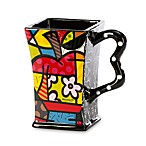 Britto™ by Giftcraft Blue Apple 14-Ounce Square Mug
