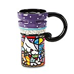 Britto™ by Giftcraft Sugar Cat 14-Ounce Travel Mug