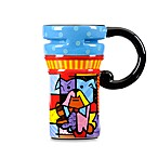 Britto™ by Giftcraft Bull Dog 14-Ounce Travel Mug