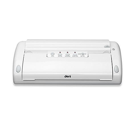 Deni 1920 Deluxe Vacuum Sealer in White