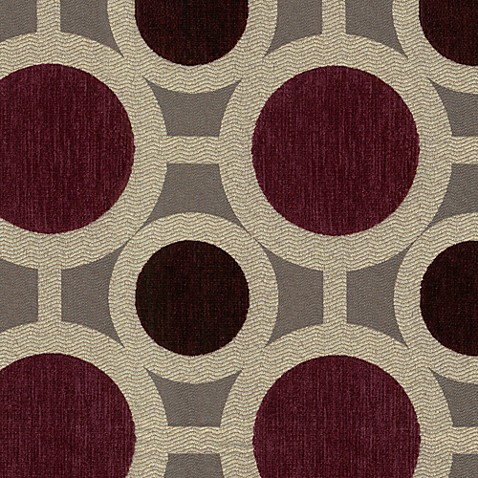 Condor Fabric by the Yard - Mulberry