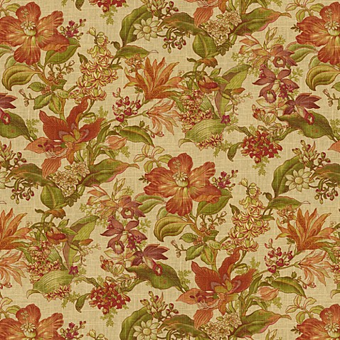 Woodworth Fabric by the Yard - Spice