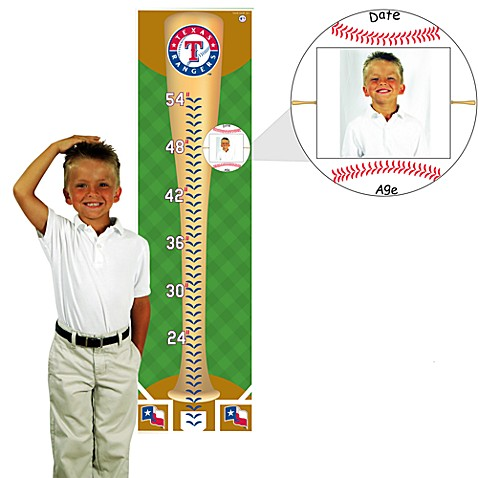 MLB® Growth Chart in Texas Rangers