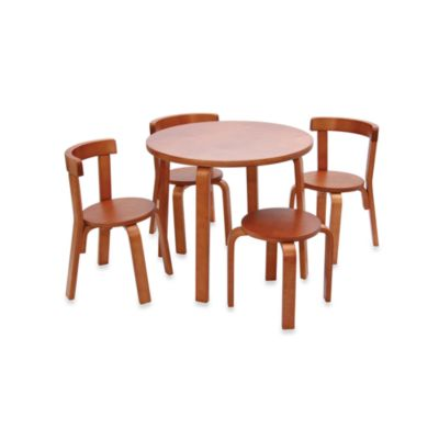 Svan® Play with Me Toddler Table & Chairs in Cherry