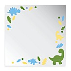 Studio Arts Dinosaurs Collection 12-Inch x 12-Inch Printed Mirror