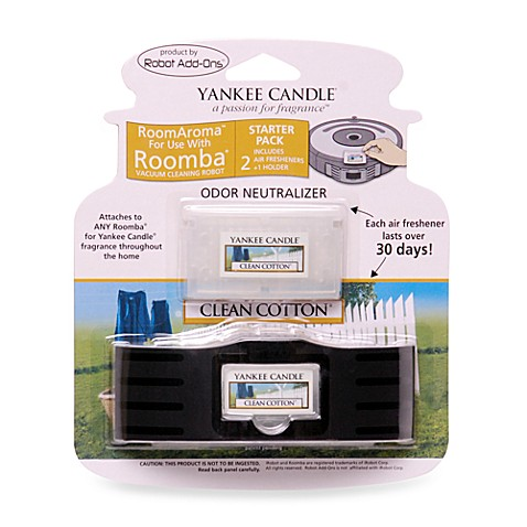 Yankee Candle® Room Aroma for Roomba Clean Cotton Starter Kit