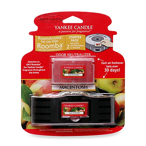 Yankee Candle® Room Aroma for Roomba Macintosh Apple Starter Kit