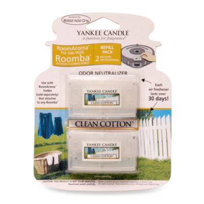 Yankee Candle® Room Aroma for Roomba Clean Cotton 2-Pack Refill