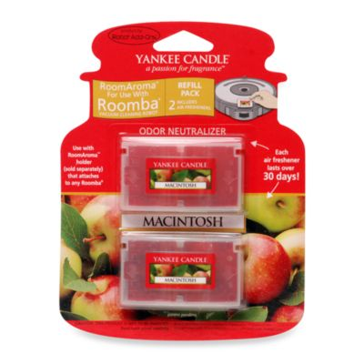 Yankee Candle® Room Aroma for Roomba Macintosh Apple 2-Pack Refill