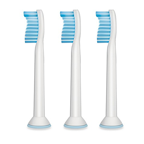Philips Sonicare® Sensitive Replacement Brush Heads (3-Pack)