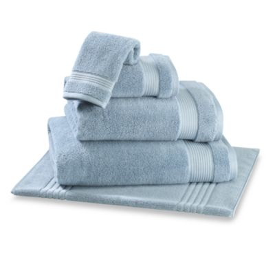 Microdry® Hand Towel in Aqua