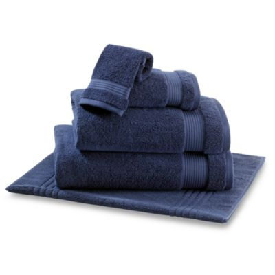 Microdry® Hand Towel in Navy