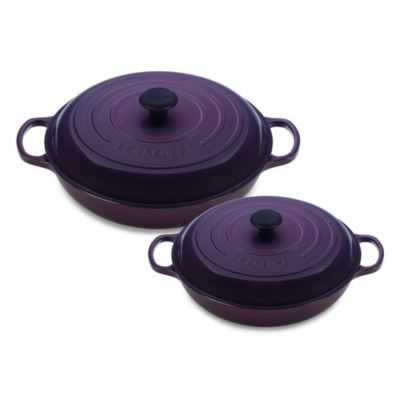 Le Creuset® 3.5-Quart Enameled Cast Iron Braiser in Cassis