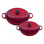 Le Creuset® Enameled Cast Iron Braiser in Cherry