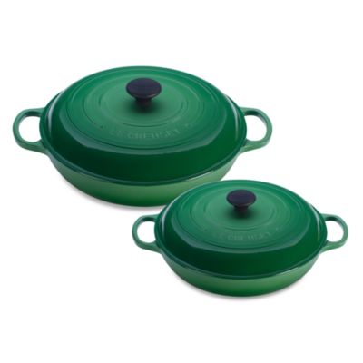 Le Creuset® Enameled Cast Iron Braiser in Fennel