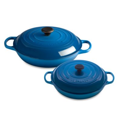 Le Creuset® 3 1/2-Quart Enameled Cast Iron Braiser in Marseilles
