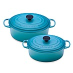 Le Creuset® Signature Oval French Oven in Caribbean